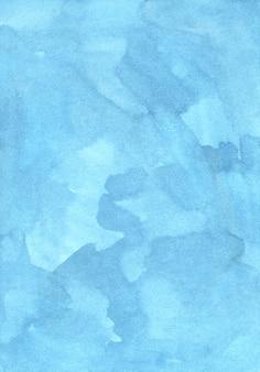Watercolor pastel blu