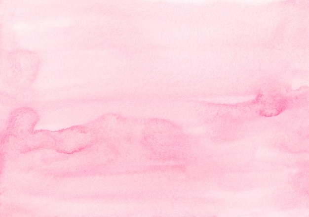 수채화 파스텔 부드러운 분홍색 배경 그림입니다. 물 색 빛 자홍색 액체 배경 종이에 얼룩입니다.