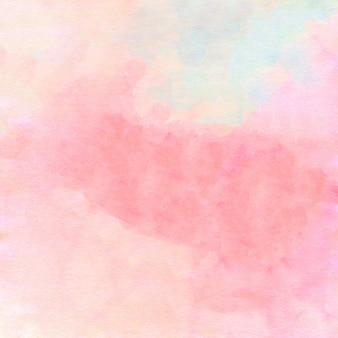 Акварельные розовые и коралловые пятна