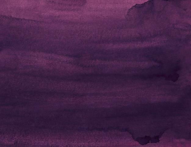 Watercolor plum purple color