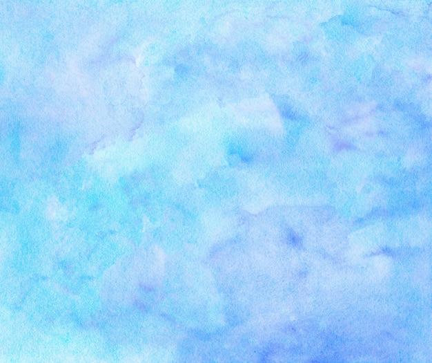 Акварельные фиолетовые и синие пятна