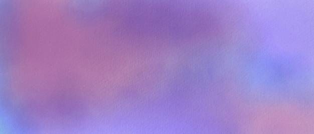 キャンバス紙に水彩の紫色の背景。抽象的な水彩イラスト。
