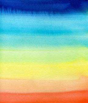 Акварельная радуга Premium Фотографии