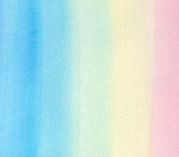 Акварельная радуга