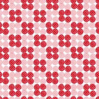 Watercolor red seamless pattern. modern textile design. wrapping paper texture.