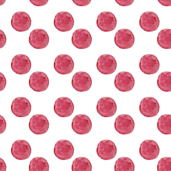 Watercolor round dots pattern. seamless hand drawn pattern. hand drawn abstract wallpaper