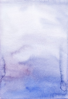 Watercolor royal purple ombre background hand painted.