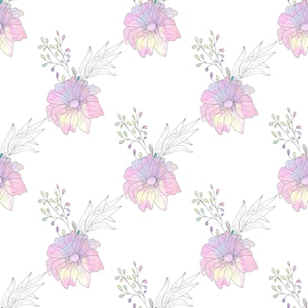 Watercolor seamless paper graphic resources printable, scrapbooking  papers