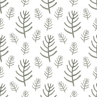 스칸디나비아 스타일의 수채화 원활한 패턴 은색 지점