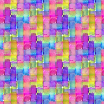 Watercolor seamless pattern with colorful texture. modern textile design.