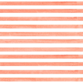 Watercolor seamless pattern with stripes.