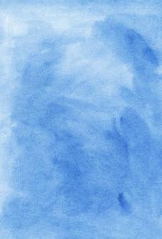Акварель небесно-голубой фон
