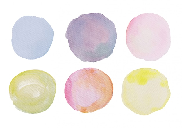 Watercolor stain collection