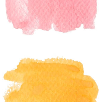 Watercolor stain