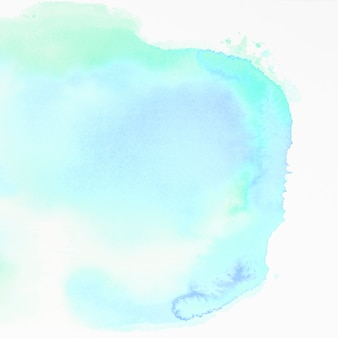 Watercolor texture on white backdrop