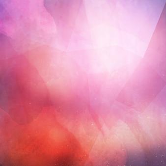 Grunge sfondo astratto con un design a basso poli