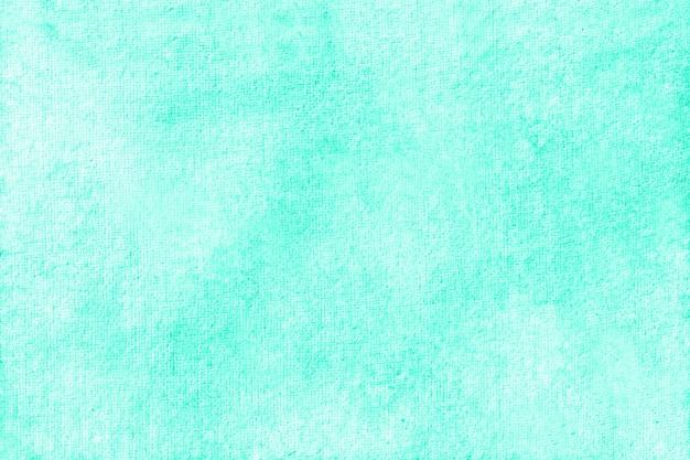 수채화 청록색 배경