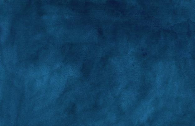 Watercolor vintage deep blue texture
