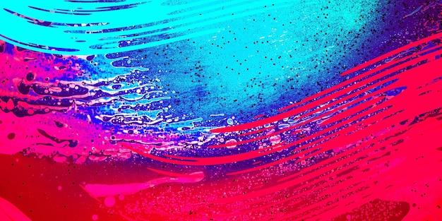波とspalshesテクニックを備えたデバイスの水彩壁紙デザインまたは背景。
