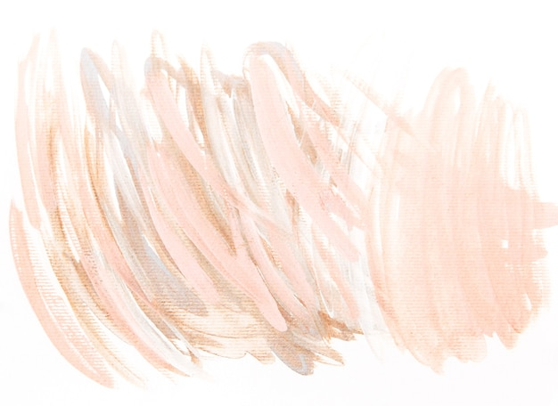 Watercolor white and brown abstract background