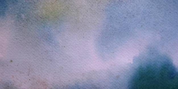 Watercolor on white paper soft abstract background and textured.
