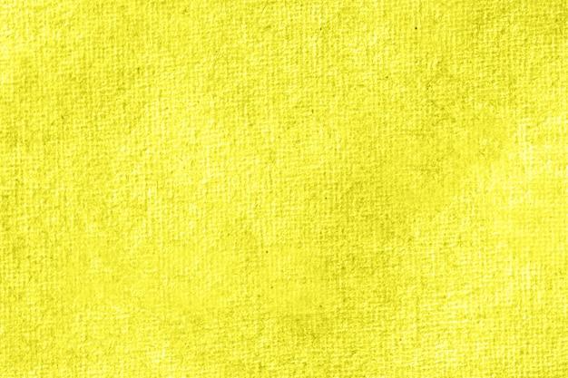 수채화 노란색 배경