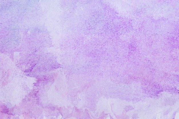 Watercolour art hand paint purple background