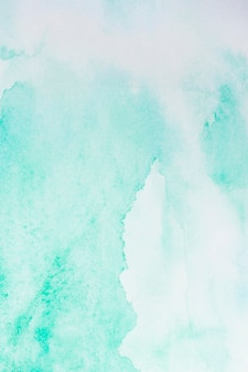 Watercolour light blue paint abstract background