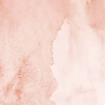 Watercolour pink paint abstract background