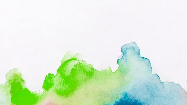 Watercolour stains paint abstract background