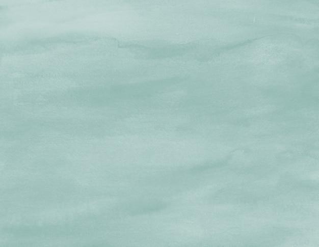 Акварельная текстура жидкий пастельный синий зеленый цвет фона краска пятно произведения искусства