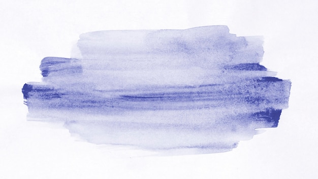 Watercolour violet paint lines background