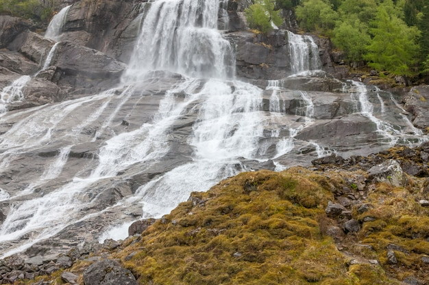 ノルウェーの滝