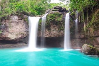 Waterfall in Thailand national park