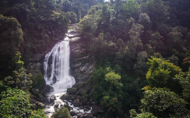Waterfall in munnar, kerala, india
