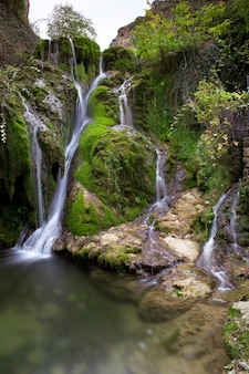 Водопад тобера в бургосе