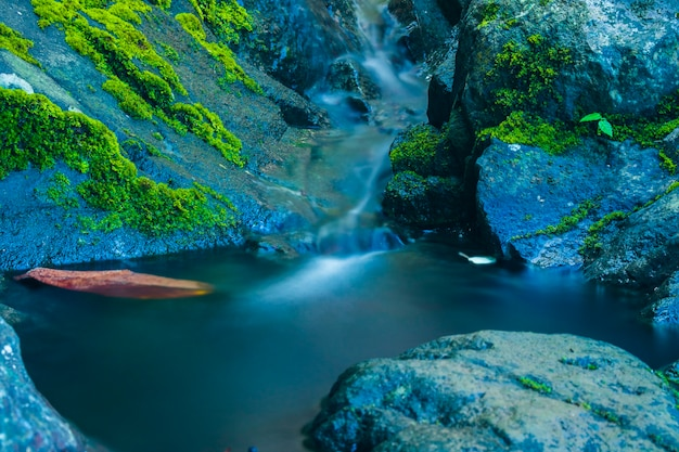 Waterfalls in the mountains of paro aceh besar district aceh indonesia