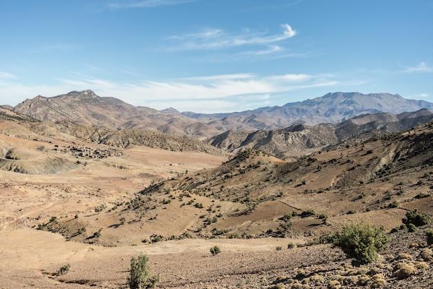 滝、ツーリストアトラクション。ウズドーモロッコ