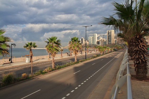 The waterfront of beirut, lebanon