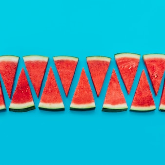 Watermelon background with copyspace