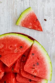 Watermelon. food. selective focus.