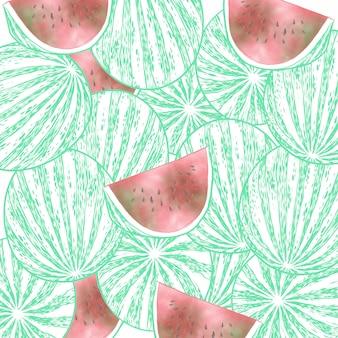 Watermelon fruit group