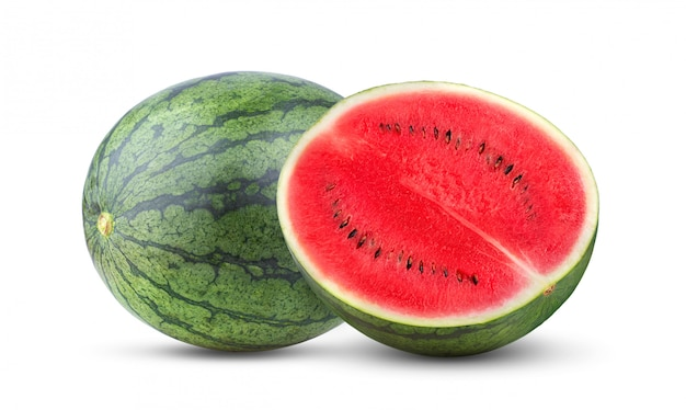 Watermelon isolated . full depth of field