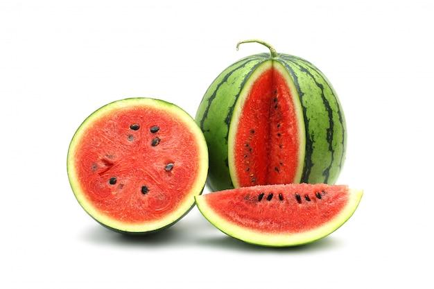 Watermelon ripe and tasty