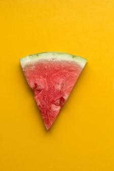 Watermelon slice triangle