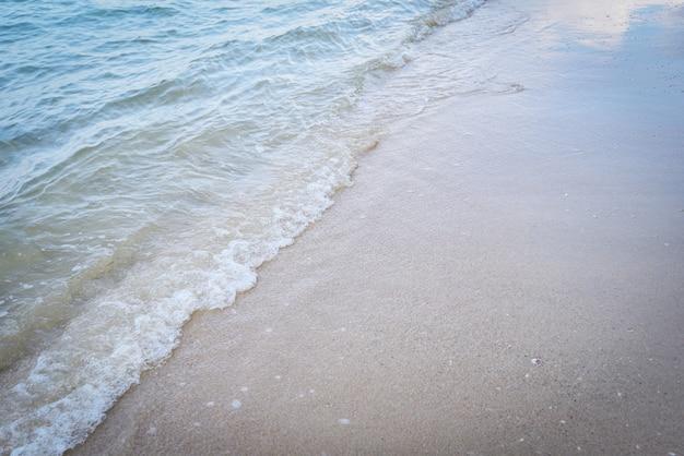 Wave beach background ocean sea and sandy