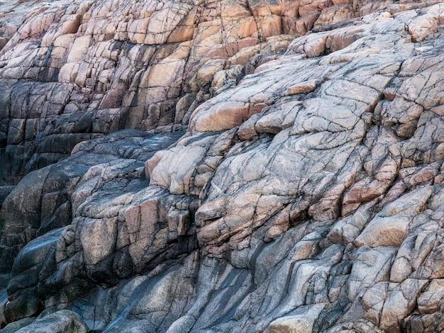 Волновая текстура, горная порода в баренцевом море.
