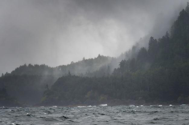 Waves in the pacific ocean, skeena-queen charlotte regional district, haida gwaii, graham island, br