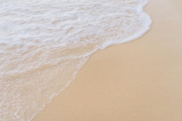 Волны мчатся на пляж фон