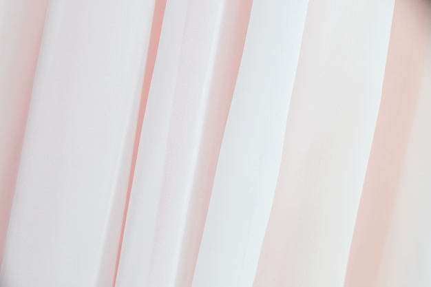 Waving cloth. seamless wave pastel satin fabric background. silk cloth fluttering in the wind.tenderness and airiness.white curtains moves from wind. tulle on window.
